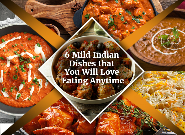 Mild Indian Dishes
