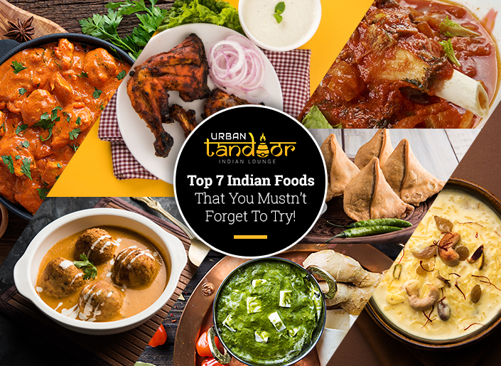 Top 7 Indian Food