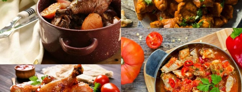 famous chicken dishes around the world