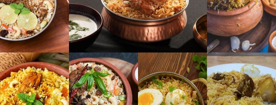types of biryani