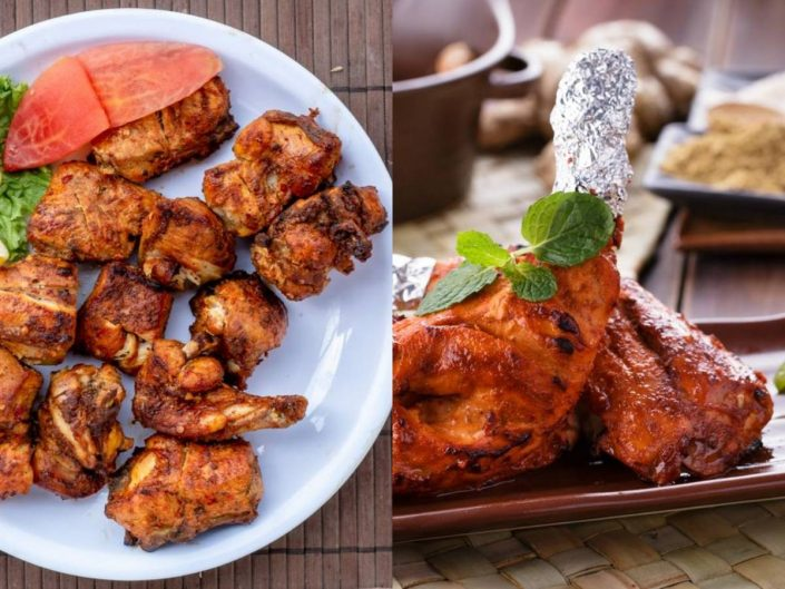 chicken tikka vs chicken tandoori