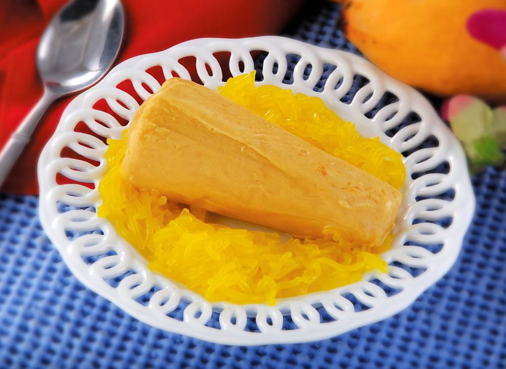 Indian desserts with mango