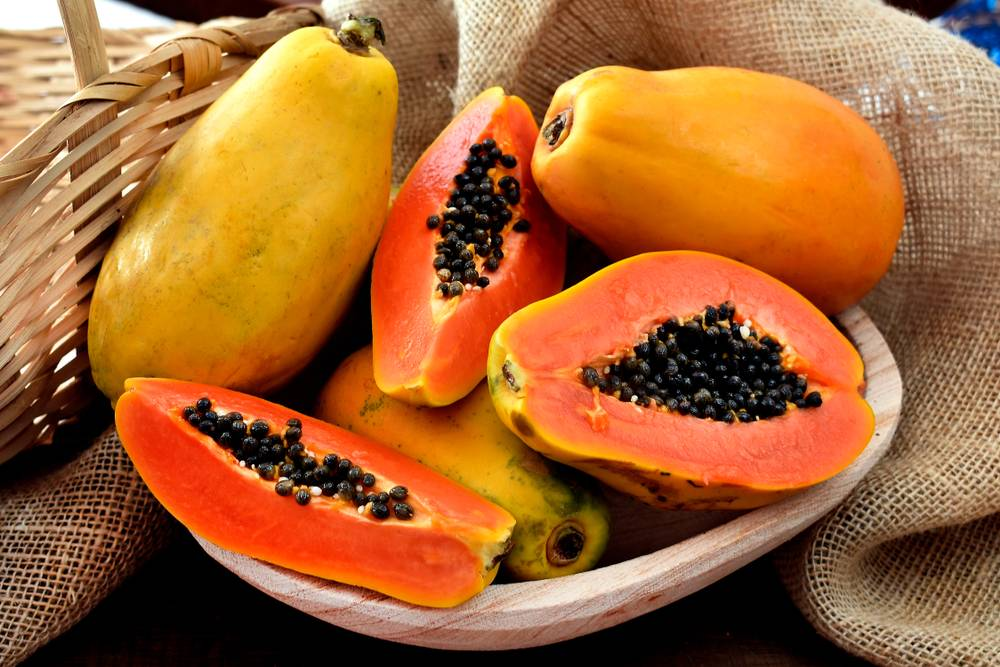 Papaya for vitamin c